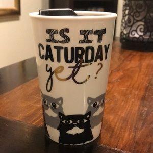 Cat Themed Ceramic Drink Mug